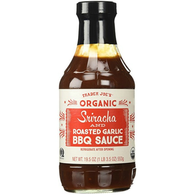 Trader Joe's Sriracha and Roasted Garlic BBQ Sauce