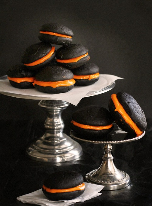 The Best Halloween Desserts on Pinterest: Whoopie pies are the ultimate Halloween treat
