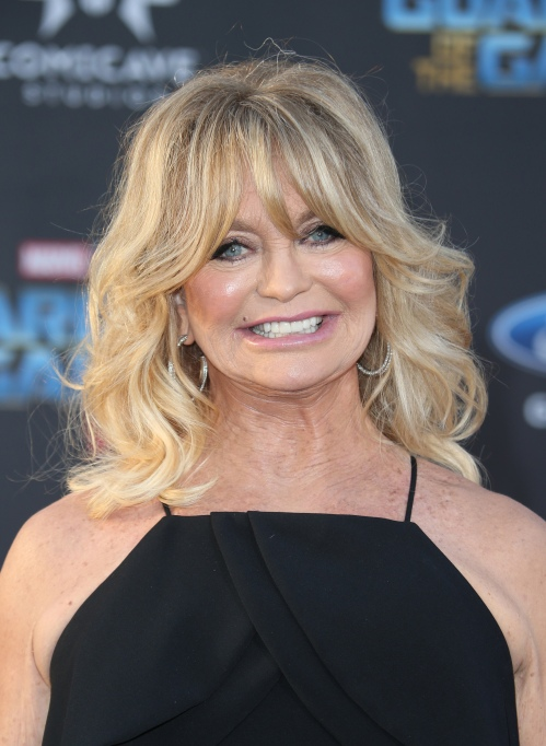 Goldie Hawn at the Guardians of the Galaxy Vol. 2. world premiere
