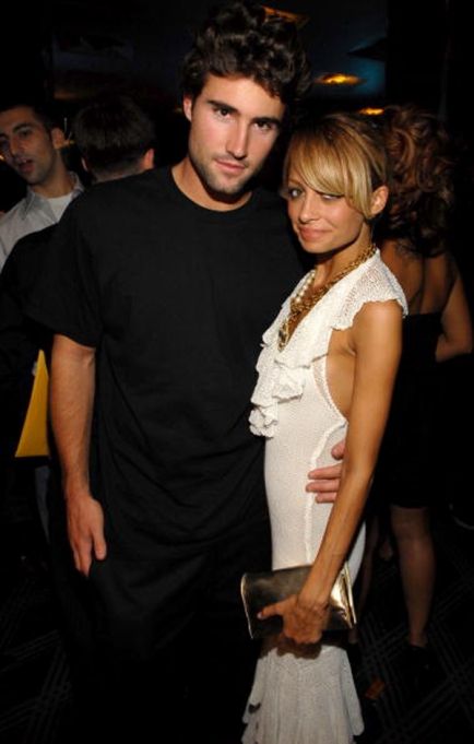 Brody Jenner and Nicole Richie at an event
