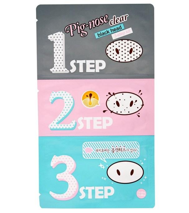 Best Korean Skin Care Products To Buy At CVS | Holika Holika Pig-Nose Clear Blackhead 3-Step Kit