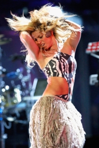 Shakira at the World Cup Concert