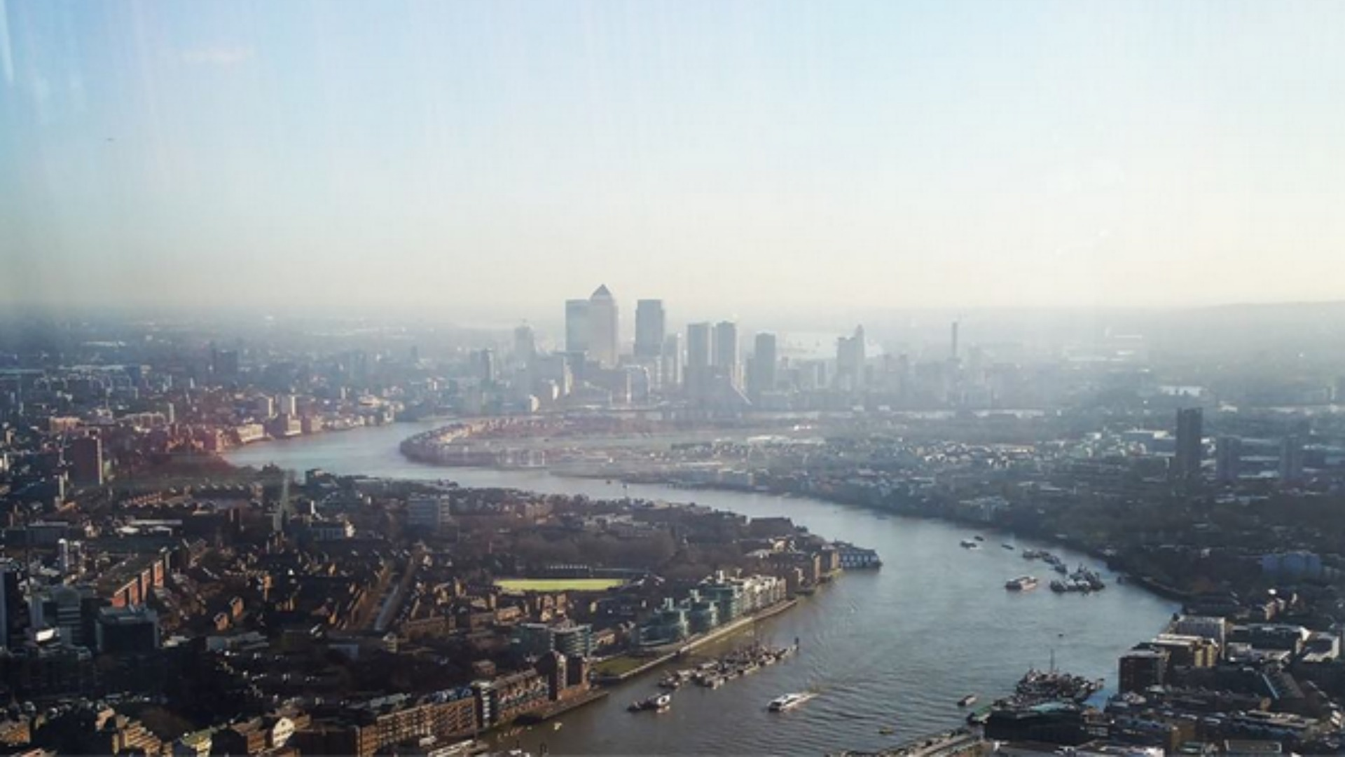 The View from The Shard, London St Patrick's Day party