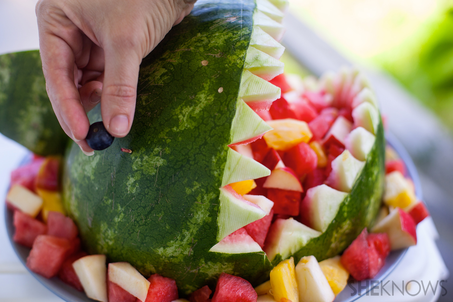 Watermelon shark bowl