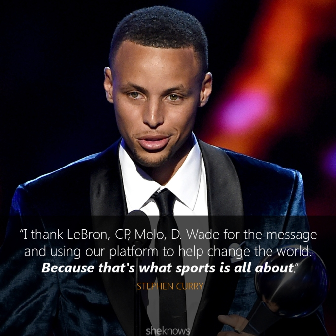 Stephen Curry 2016 ESPYs