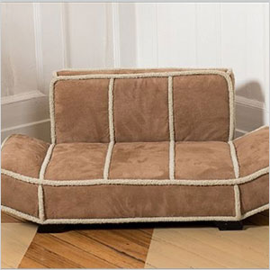 Shearling pet bed
