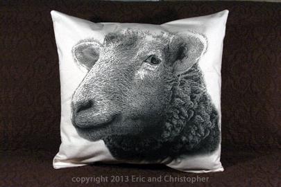 sheep-pillow