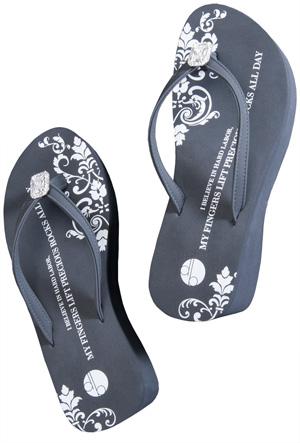 Robbie Bernstein flip flops