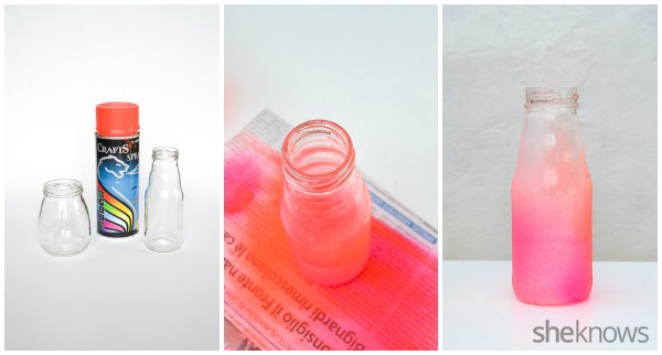 DIY vase: supplies