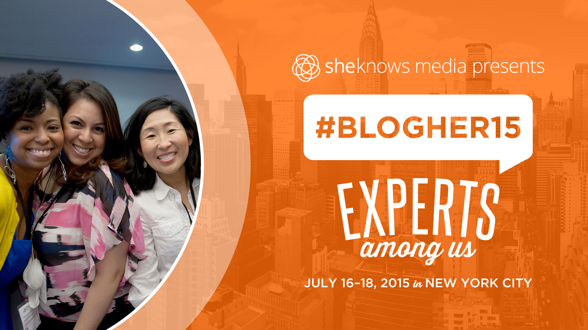 Experts Among Us BlogHer 15