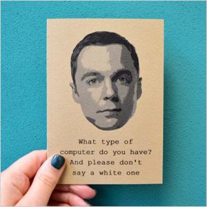 Sheldon Cooper quote book