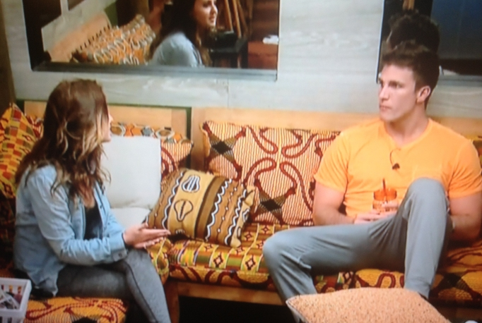 Michelle and Corey Big Brother