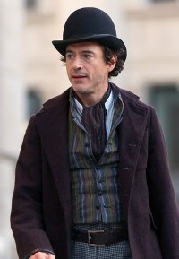 Robert Downey Jr in Sherlock Holmes