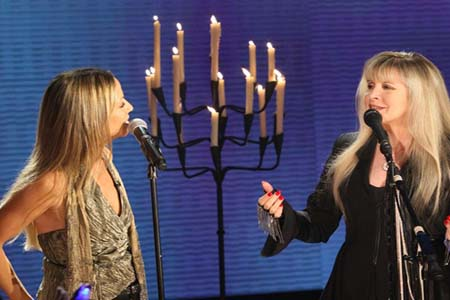 Stevie Nicks performs on Oprah