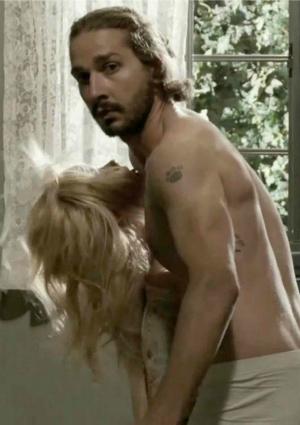 Shia LeBeouf in Erotic Icelandic Music Video