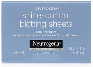 Neutrogena blotting sheets