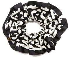 Chou Chou Jumbled Logo Scrunchie (Marc by Marc Jacobs, $32)