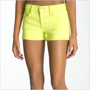 Sunny Wash Joe's denim shorts