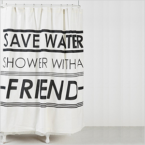 Eco-friendly shower curtain | Sheknows.com