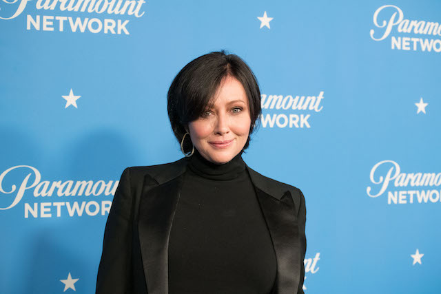 Shannen Doherty attends Paramount Network Launch Party at Sunset Tower