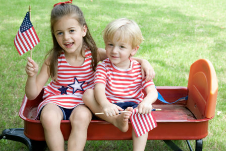 4th of July with kids