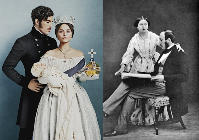 The real Victoria and Albert
