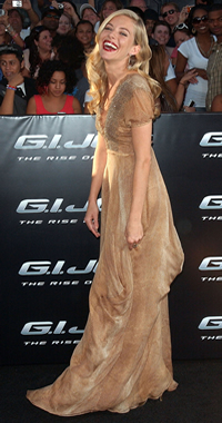 Style icon Sienna Miller