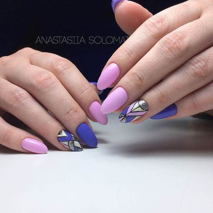 Stained-Glass Nails