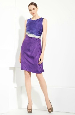 Piazza Sempione silk dress