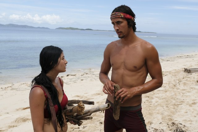 Simone Nguyen and Devon Pinto on Survivor: Heroes Vs. Healers Vs. Hustlers