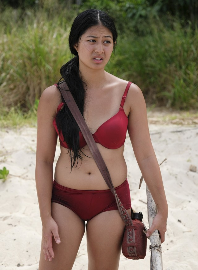 Simone Nguyen on Survivor: Heroes Vs. Healers Vs. Hustlers