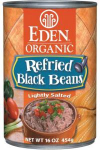 Eden Foods organic refriend black beans