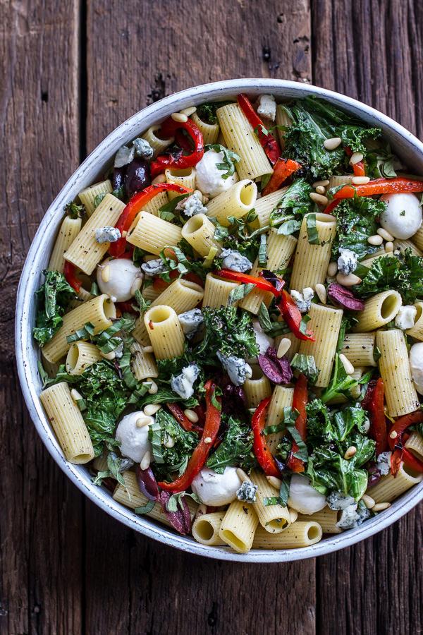 grilled kale tuscan salad