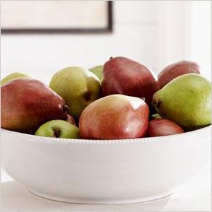 Simple serving bowl