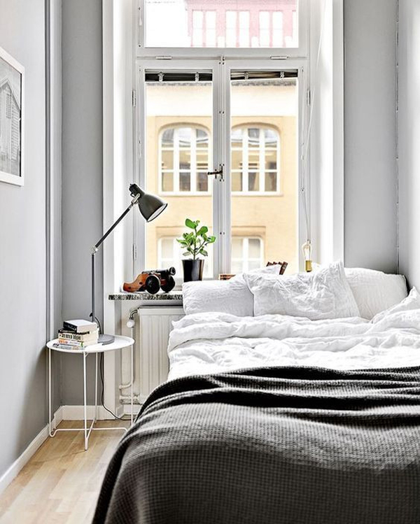 The Best Small Spaces of 2017: Simple Tiny Bedroom | Home Decor