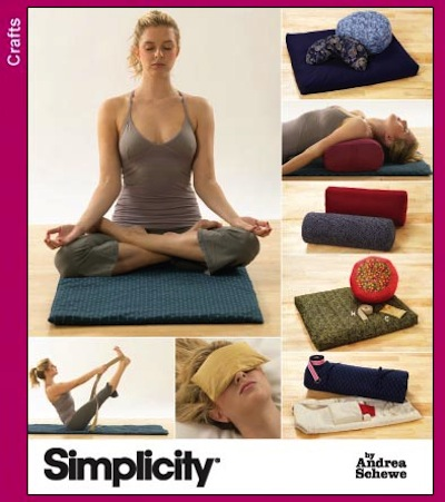Simplicity yoga accessories pattern