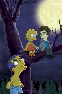 The Simpsons does Twilight
