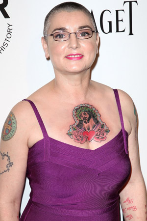 Sinead O'Connor talks about her Vegas wedding