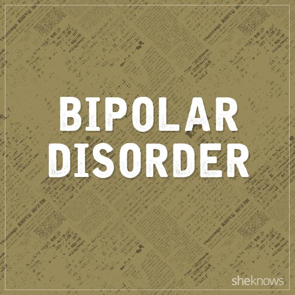Bipolar disorder graphic