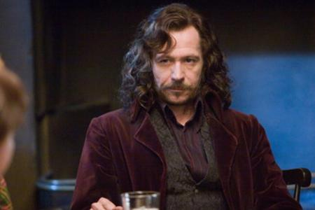 Gary Oldman is Sirius Black