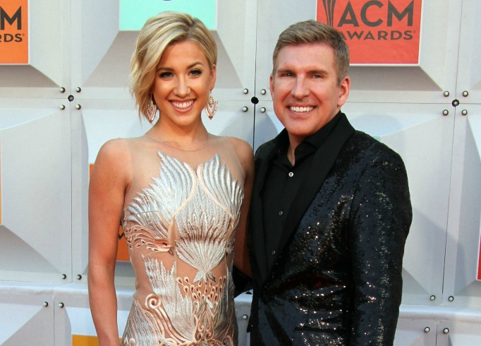 Todd and Savannah Chrisley