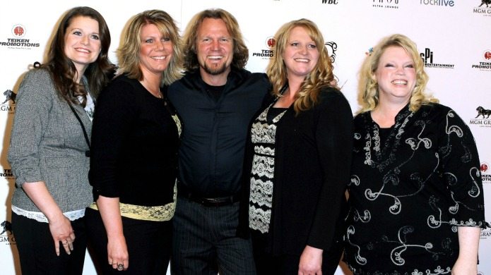 The Sister Wives family presents an