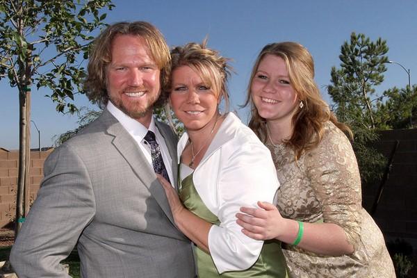 Sister Wives - Kody, Meri and their daughter