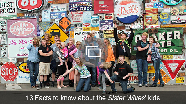 sister wives kids slideshow