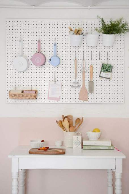 Keep your cookbooks in your kitchen (as long as they match the rest of your decor, of course).