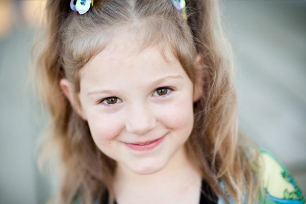Six year old girl