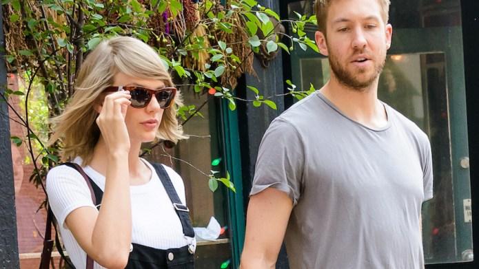 Taylor Swift and Calvin Harris had