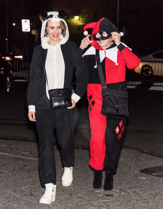 Best celebrity Halloween costumes 2017: Sarah Paulson & Holland Taylor
