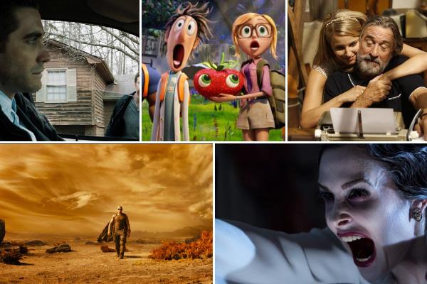 Movie releases for September
