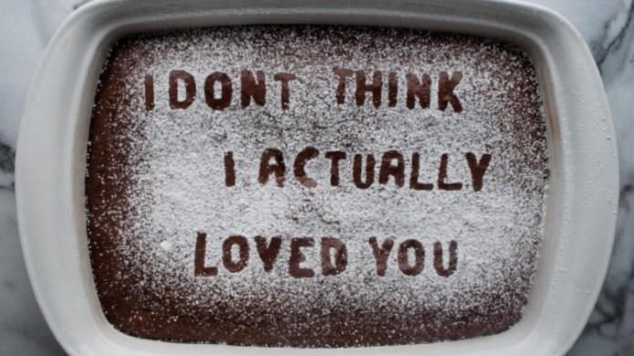 Heartbreak inspires baker's brilliant photo series